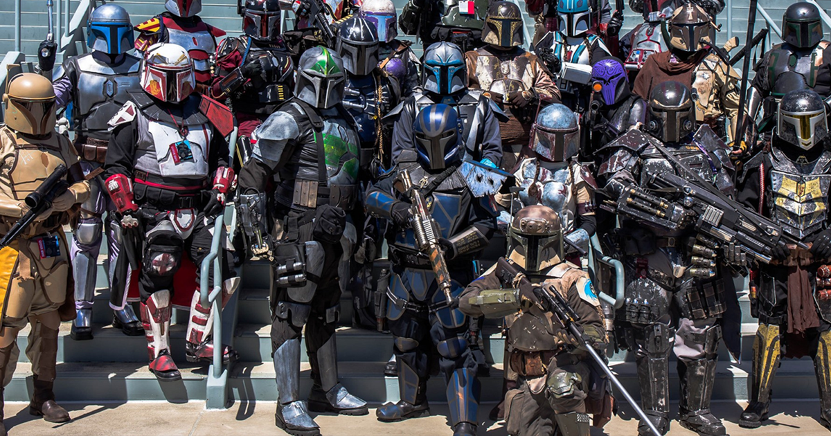 Mandalorian Mercs Costume Club