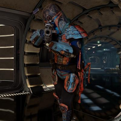 Kebiin Ke'Varek - Shock Infantry - Privateer